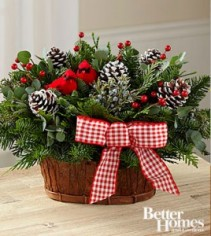 Joyful Tidings Holiday Basket