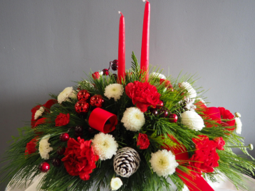 Joyous Candlelight  Flower Arrangement