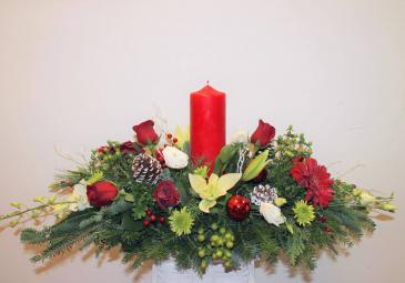 Joyous Celebration Christmas Centerpiece ***LOCAL DELIVERY ONLY***