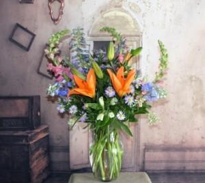 Orange Glow Tall in Stevensville, MT | WildWind Floral Design Studio