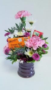 Earring Holder, Gourmet Chocolates, Flowers J.Rae Pottery