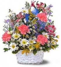 Jubilee Basket  Fresh Arrangement