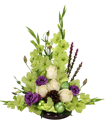 JUBILEE GREEN Floral Arrangement