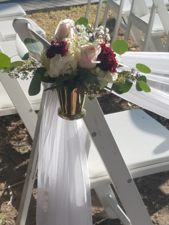 julep cup isle chair flowers