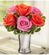 Julep Cup Multi Roses Arrangement