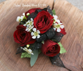Juliet Beaded Wrist Corsage
