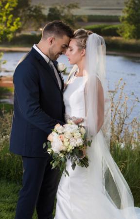 Juliet  wedding bouquet