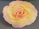 Juliet's Dream Garden Sunset Rose Soap Flower