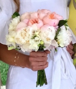 Juliets Peonies Hand Gathered Bouquet