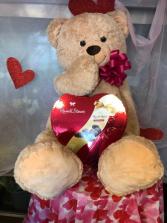 Jumbo Bear w/Candy