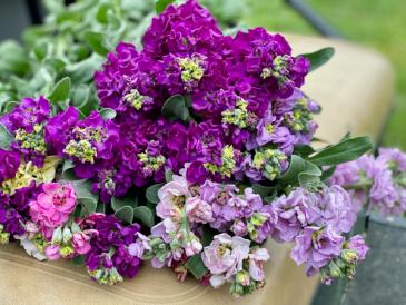 June 25th bouquet workshop