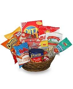 Junk Food Basket          Assorted  goodies