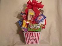 Junk Food Basket Gift Basket