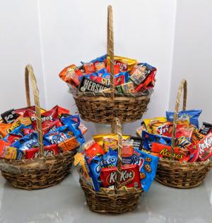 Junk Food Basket Gift Basket in Douglasville, GA | The Flower Cottage & Gifts, LLC