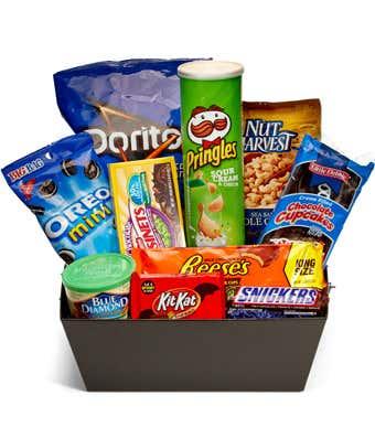 Junk Food crate