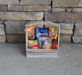 Junk Food Crate Gift Basket