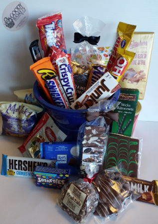 Junk Food Cravings Gift Basket