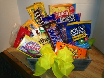Junk Food Day!! Gift Basket
