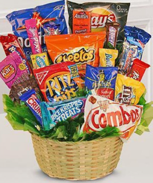 Junk Food fantasy  in Clarksville, TN | FLOWERS BY TARA AND JEWELRY WORLD