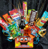 Junk Food Junkie candy/ snack bouquet