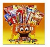 JUNK FOOD JUNKIE BOX Gift Basket