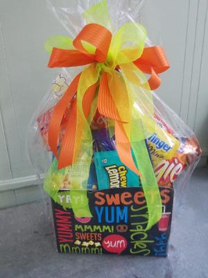 Junk Food Kit Gift Basket in Henderson, TX | RAYFORD FLORIST & GIFTS
