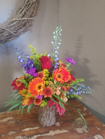 Just a little woodsy Vase arrangement