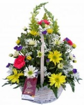 Just a Ray of Sunshine Basket Arrangement