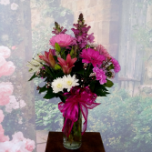 JUST BECAUSE BOUQUET VASE ARRANGEMENT