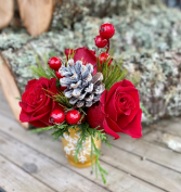 Just Because for the holidays fresh flowers
