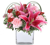Just Because fresh arrangement only offered in standard size as shown