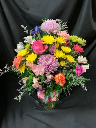 Just Because I Love You Vase Arrangement