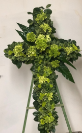 Just Blessed FUNERAL CROSS