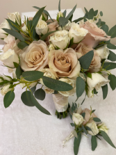 Just Blush Wedding Bouquet