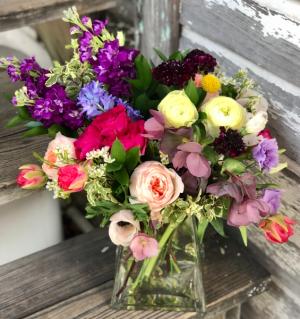 Just Flowers  Floral Arrangement in Vase in Key West, FL | Petals & Vines