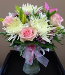 Vday Mix Just For Her Mixed Bouquet with Roses