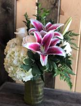 Just For YOU Fresh Vase Arrangement