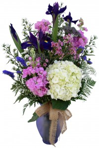 Just for you Vase in Akron, PA | ROXANNE'S FLOWERS
