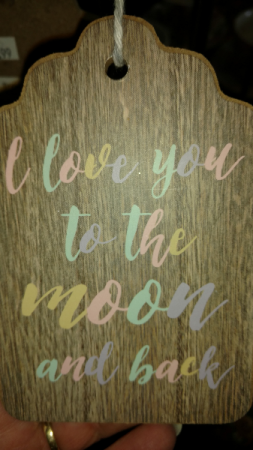 Just for your Mom Wooden sign