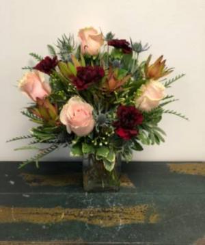 Just Friends Vase Arrangement in Bluffton, SC | BERKELEY FLOWERS & GIFTS