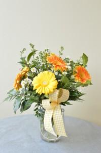 Just Like Sunshine Custom Fitzgerald Flowers Arrangement
