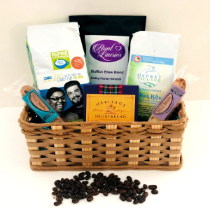 Just Love Coffee  Gift Basket in Bluffton, SC | BERKELEY FLOWERS & GIFTS