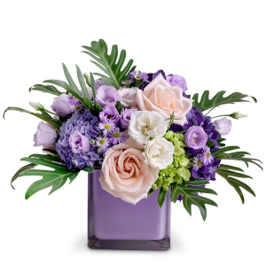 Just Peachy Arrangement in Barre, VT | Forget Me Not Flowers and Gifts LLC