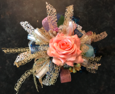 Just Peachy  Prom Corsage