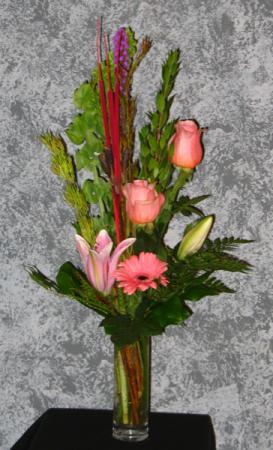 Just Peachy Floral Arrangement