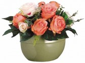 Just Peachy Roses-SILK BOTANICAL