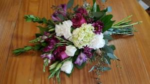 Just Right Hand Tied Bouquet  in Fort Wayne, IN | THE FLOWER SHOP
