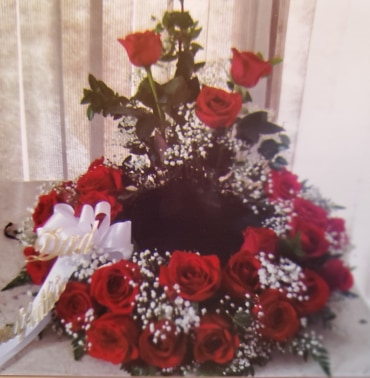 Just Roses Cremation Wreath Cremation Wreath