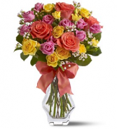 JUST SPLENDID ROSES BOUQUET