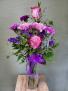 """""""Just The Purples"""" Bud Vase"""